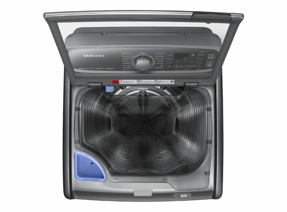 HÅNDVASK I MASKIN: Ta håndvasken - i maskinen. Foto: SAMSUNG