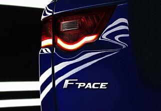 Jaguar F-Pace er offisiell