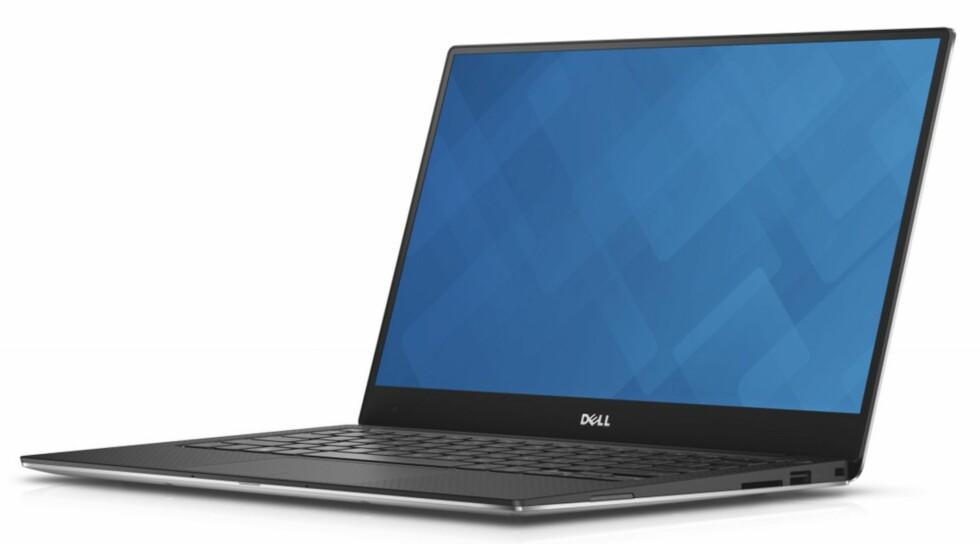 NESTEN KANTLØS: Med en kant på drøye 5mm er det mye skjerm på Dell XPS 13.