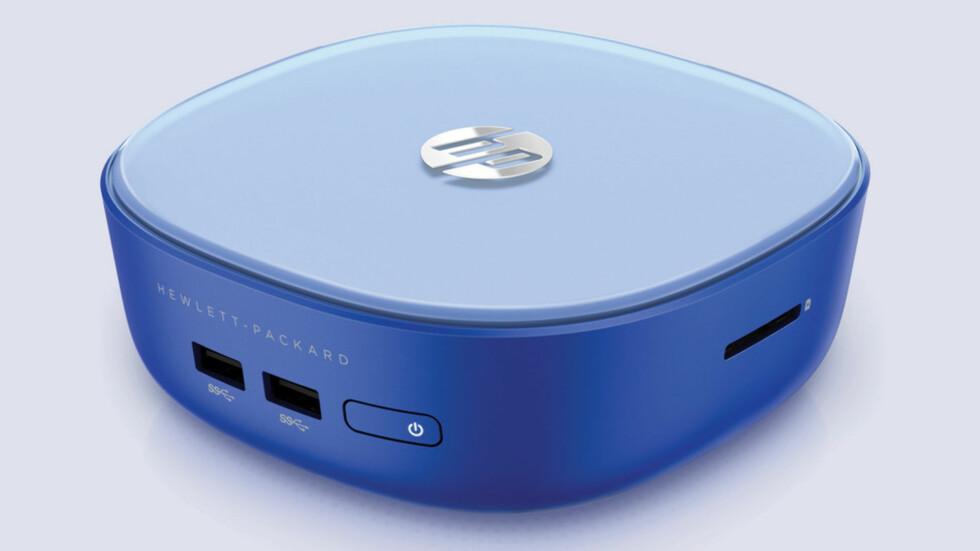 LITEN: Denne lille HP-PC-en har lav prislapp, men burde duge fint til både Netflix og surfing.