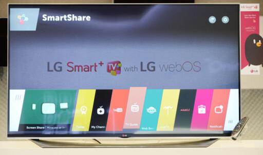 LGs nye webos, versjon 2.0  Foto: LG