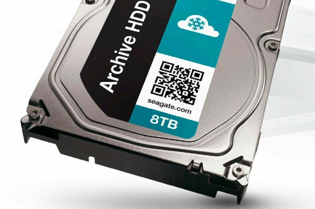 ROMSLIG OG SEIGLIVET: Seagates nye Archive HDD knuser lagringsrekordene. Foto: SEAGATE