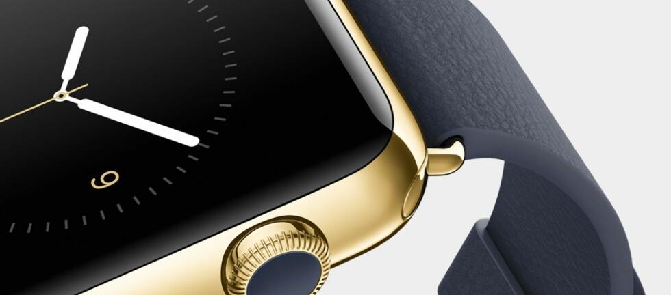 SMARTKLOKKE-FEBER? Med Apple Watch rett rundt hjørnet, kan smartklokka bli et enda hetere produkt i 2015. Foto: APPLE