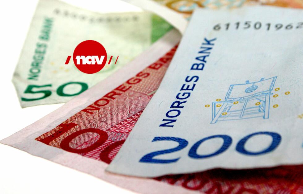 SKATT: Endringene i uføreordningen innebærer blant annet at uføre skal betale skatt av beløpet fra NAV. Foto: OLE PETTER BAUGERØD STOKKE