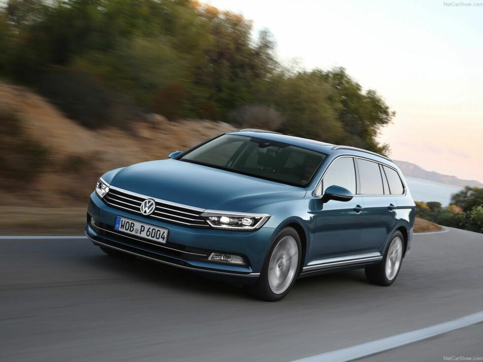 VW PASSAT: En av de mest komplete bilene i dag. Stor plass, gode kjøreegenskaper og masse utstyr. Foto: VW