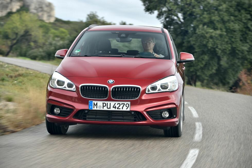 BMW 2-SERIE ACTIVE TOURER : Den mest komplette MPV for øyeblikket. Foto: BMW