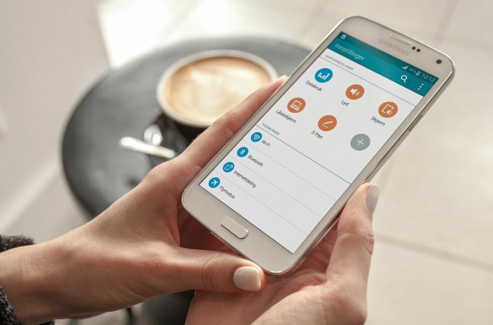 MYE NYTT? Her er en god håndfull tips til deg som er ny på Android. Foto: PÅL JOAKIM OLSEN