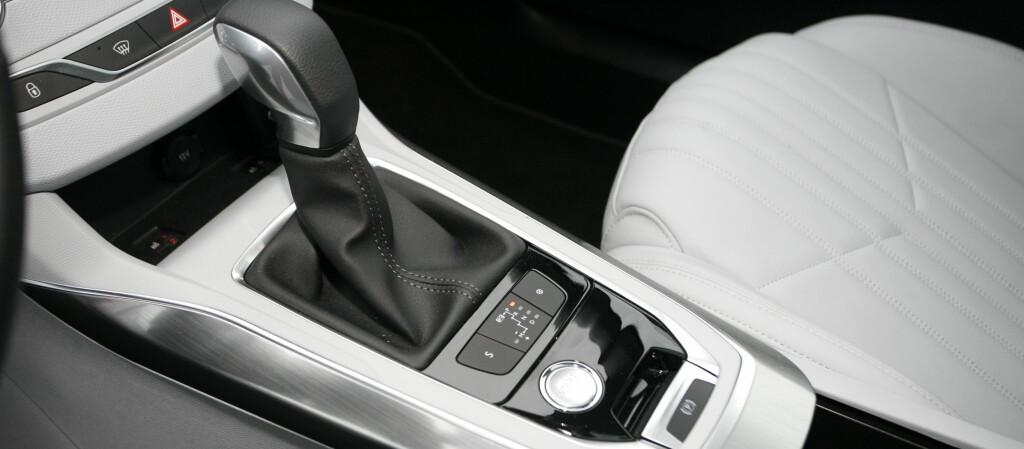 <b>ORDENTLIG AUTOMAT:</b> Endelig har Peugeot kommet med en ordentlig automatkasse. Foto: KNUT ARNE MARCUSSEN