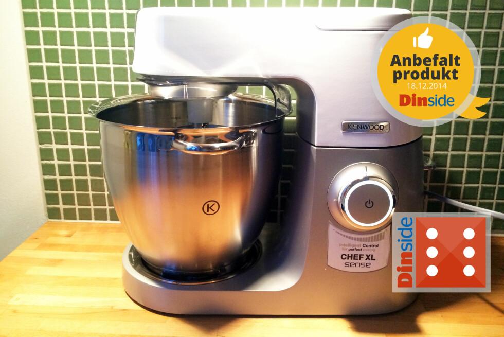 ANBEFALT PRODUKT: Dette er en kjøkkenmaskin du kommer til å bli glad i. Foto: ELISABETH DALSEG