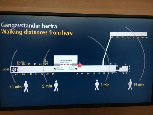 SJEKK AVSTANDEN: Gate 19 kan være lenger unna enn du kanskje kan tro. Foto: OSL