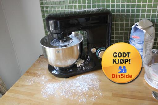 ET KUPP: Andersson KNM 1.0 søler litt, men du får mye kjøkkenmaskin for pengene. Foto: ELISABETH DALSEG