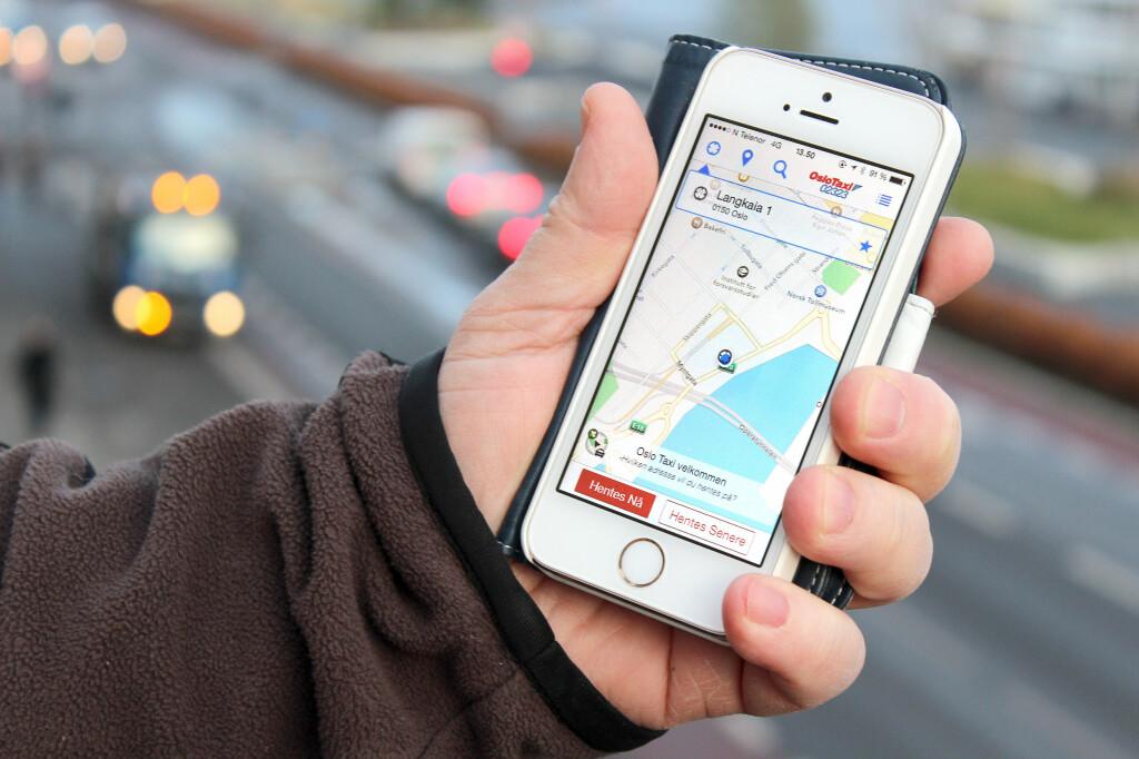 <b>FOR VANLIG TAXI:</b> Taxi-Fix brukes nå av taxisentraler mange steder i landet. Foto: OLE PETTER BAUGERØD STOKKE
