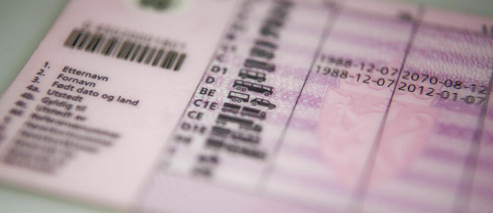 BLIR HISTORIE? Hvis innføringen av førerkortet som mobil-app slår an i USA, vil kanskje flere land, og deriblant Norge, etterhvert følge etter? Foto: PER ERVLAND
