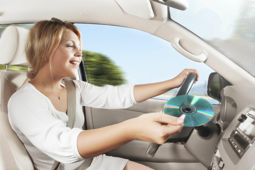 <strong><B>NY UNDERSØKELSE:</strong> </B>Hvordan du kjører påvirkes av hva slags musikk du hører på.  Foto: COLOURBOX
