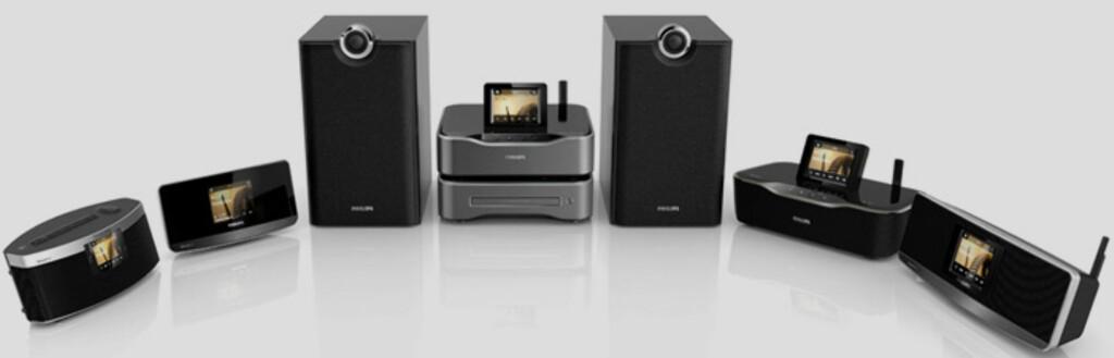 STREAMIUM: Philips har hatt trådløs lyd lenge. Nå satser de for full i et marked som først i år virkelig har tatt av. Foto: PHILIPS