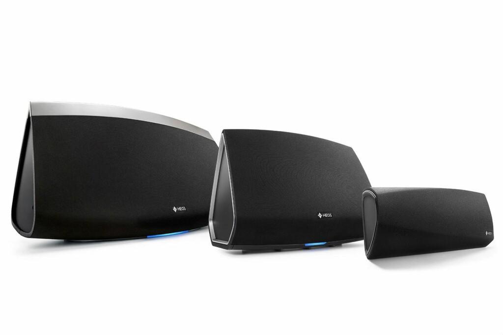 BRA PÅ LYD: Japanske Denon er kjent for gode stereo- og hjemmekinoprodukter. Med sitt HEOS-anlegg har de også kastet seg på den trådløse trenden. Foto: DENON