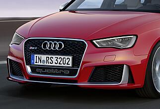 Nå kommer Audi A3 som RS!