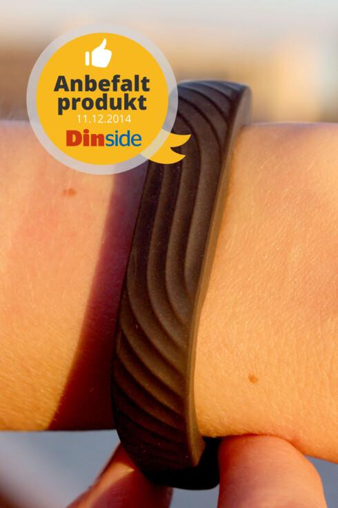 ANBEFALT: Jawbone-armbåndet er også et godt valg. Foto: OLE PETTER BAUGERØD STOKKE