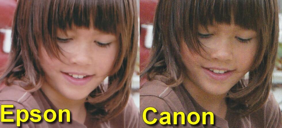 GOD PÅ FOTO: Epson og Canon scorer høyest på fotoutskrifter, Epson ligger noen hårstrå foran denne gangen. Foto: BJØRN EIRIK LOFTÅS