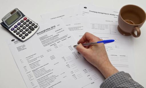 MER RENTE: Rentefradraget kan kuttes fra 27 til 20 prosent - det samme er foreslått for beskatning av kapitalinntekter, som for eksempel salg av bolig. Foto: PER ERVLAND