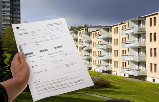 BOLIGSELVANGIVELSE: I 20100 måtte alle norske boliger føres inn i mantall. Nå beregnes ligningsverdien automatisk. Foto: PER ERVLAND