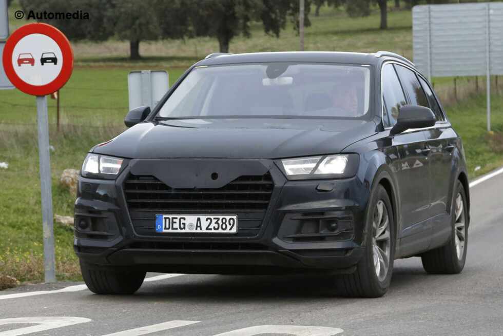 KOMMER SNART: Neste Audi Q7. Foto: AUTOMEDIA
