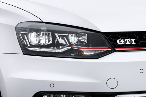 GTI TILBAKE: VW Polo har gjort mer ut av sin facelift enn det som er vanlig. Vi liker det som er gjort. Foto: VOLKSWAGEN