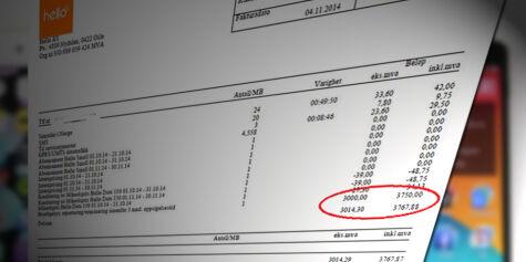 image: Tronds selskap måtte betale 3.750 kroner i bruddgebyr