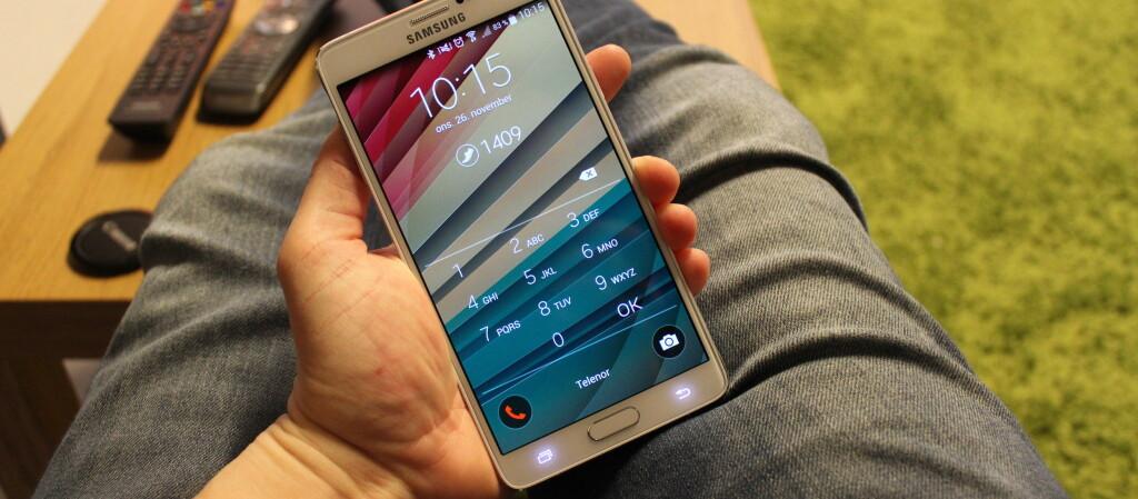 <strong>LÅSE OPP?</strong> Hvis du synes det er unødvendig å låse opp telefonen når du er i kjente omgivelser, er denne appen kjekk. Foto: PÅL JOAKIM OLSEN
