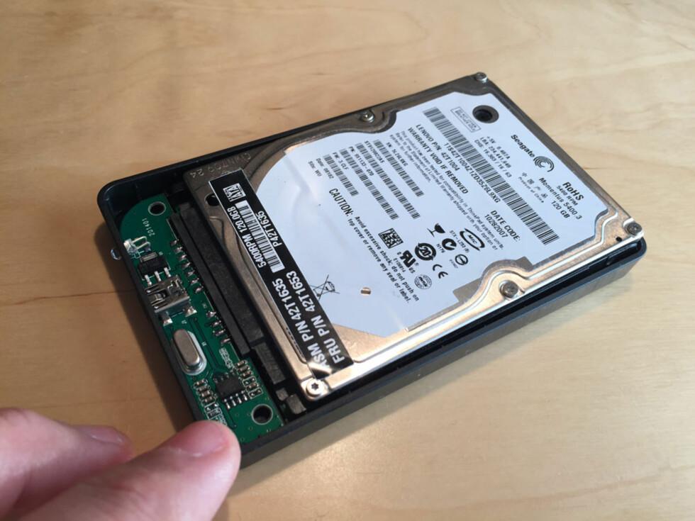 Slik oppgraderer du fra harddisk til SSD