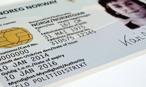 image: Slik blir det nye ID-kortet