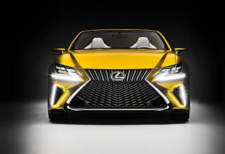 Vi har aldri sett maken til Lexus LF-C2