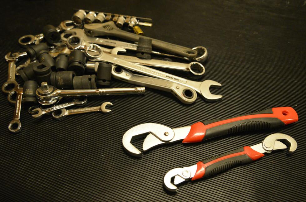 SMARTE NØKLER? Kan disse to erstatte en hel haug med nøkler og piper? Foto: BRYNJULF BLIX