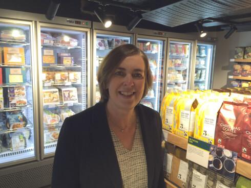 455 INTERNASJONALE BUTIKKER: Jill Bruce er sjef for  Marks & Spencers Food International. Foto: KRISTIN SØRDAL