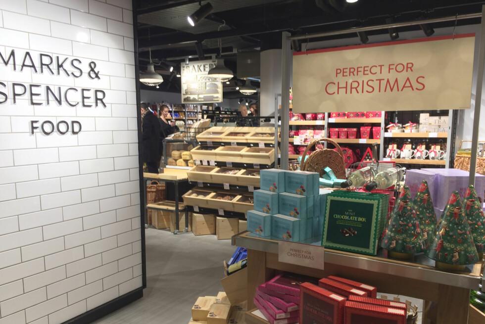 FØRST I SKANDINAVIA: Marks & Spencers matbutikk i Oslo blir den første M&S-butikken i Skandinavia. De planlegger sju nye butikker i løpet av de neste fem årene. Foto: KRISTIN SØRDAL