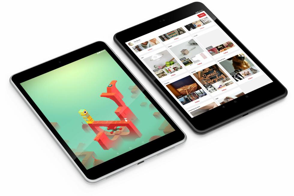 MEN ER DET IKKE...: Neida, det er ikke iPad mini, men Nokias nye N1-nettbrett. Foto: NOKIA