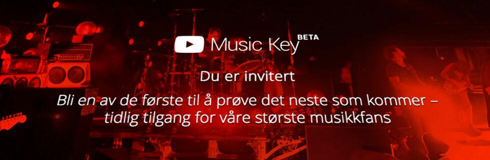 NY TJENESTE: Nå vil også YouTube ta opp kampen mot Spotify og de andre strømmetjenestene. Foto: PÅL JOAKIM OLSEN