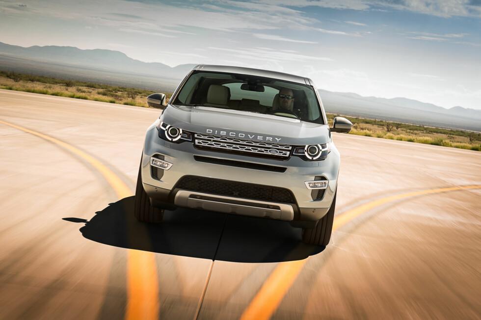 SKAPER KONKURRANSE: Discovery Sport vil bli et positivt tilskudd til den stadig mer populære mellomklasse-SUVen. Foto: LAND ROVER