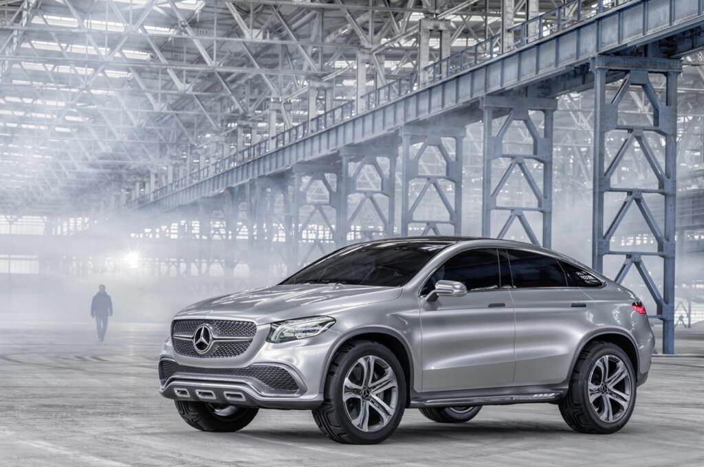 FÅR NAVNET GLE COUPÉ: Mercedes' kommende konkurrent til BMW X6. Foto: DAIMLER