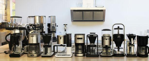 image: Vi har testet ti kaffetraktere