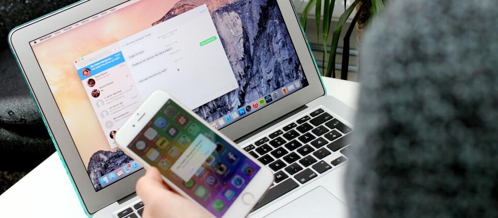 NYTT OPERATIVSYSTEM, NYE FEIL: Mens den nye OS X-versjonen gir mange nye funksjoner, klusser oppdateringen det også til for noen gamle. Foto: OLE PETTER BAUGERØD STOKKE