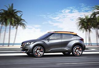 Nissan Kicks treffer blink