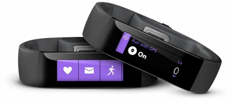 TRE STØRRELSER: Avhengig av tykkelsen på håndleddet ditt, kommer Microsoft Band i tre størrelser.