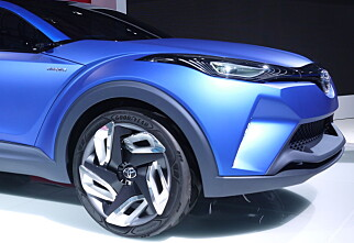RAV4-lillebror: Toyota C-HR