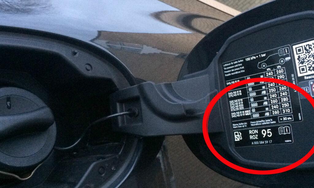 image: Hva om du fyller «feil» oktan på bilen?