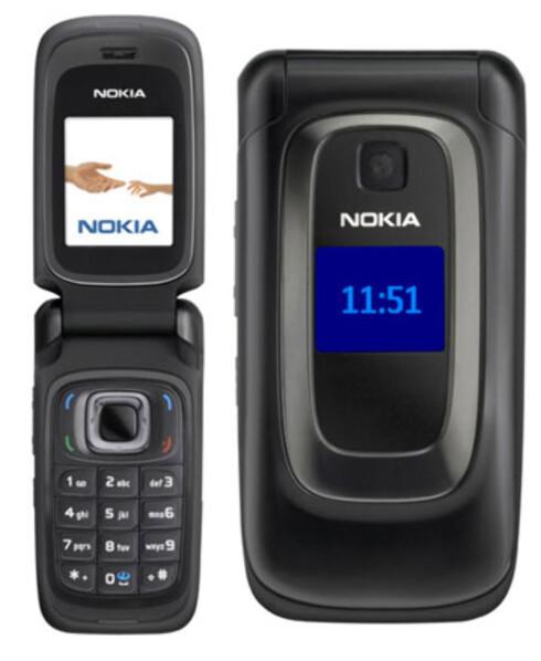 NOKIA 6085: En flipptelefon lansert i 2006.  Foto: NOKIA