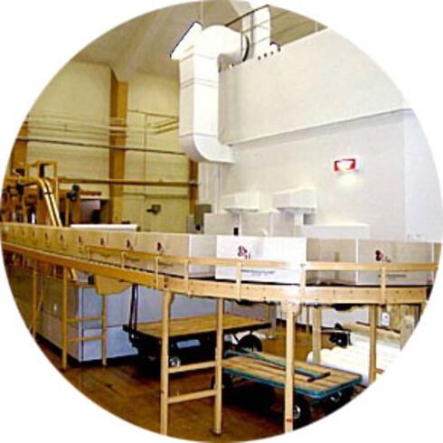 I NORGE: Her på gammabestrålingsanlegget på Kjeller kan norske matprodusenter bestråle krydderet sitt. Foto: IFE
