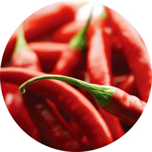 BEGRENSET: Foreløpig er det bare krydder, urter og andre vegetabilske smaksgivere som kan bestråles.  Foto: ALL OVER PRESS