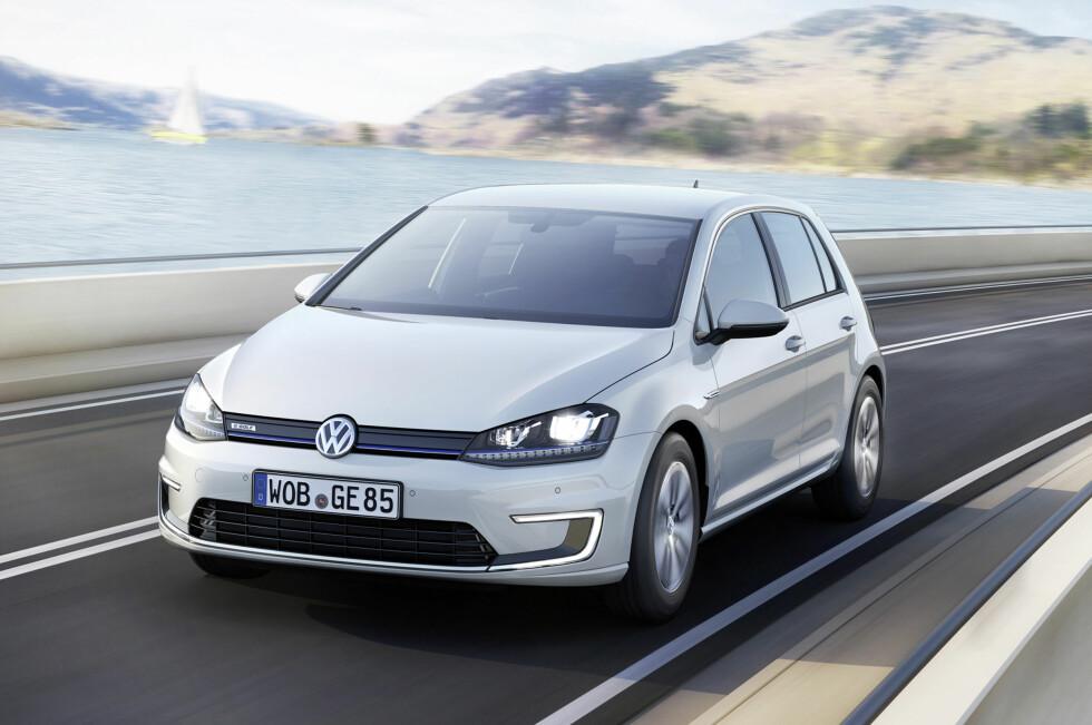 VW e-Golf Foto: VW