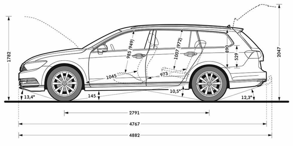 Volkswagen Passat: Førsteinntrykket er imponerende